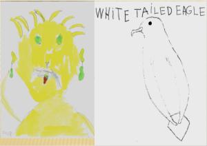Dante åk 1 självporträtt o örn