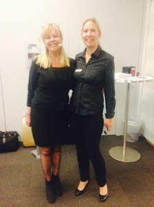 Mona Liljedahl och Monica Strandgren, projektledare för Teknologisk Institut
